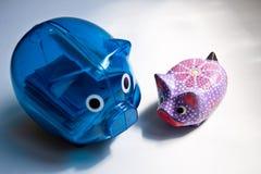 猪型纪念品 免版税图库摄影