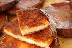 猪油丰富的蛋糕kouign amann 库存图片