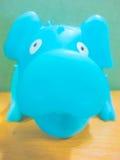 猪玩偶神色您 库存照片