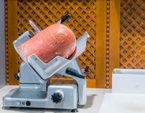 猪肉切片机 免版税库存照片