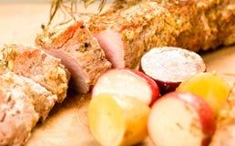 猪肉切的里脊肉 免版税图库摄影