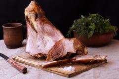 猪肉指关节 免版税库存照片