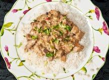 猪肉沙拉酱肉 库存图片