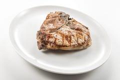 猪肉烤丁骨牛排剁  免版税库存图片