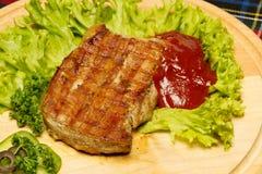 猪肉牛排 库存照片