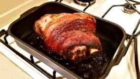 猪肉的开胃指关节 库存图片