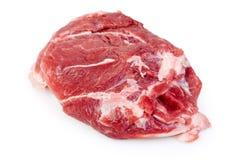猪肉脖子 库存图片