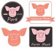猪肉 免版税库存照片
