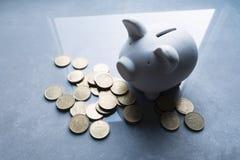 猪钱箱 免版税图库摄影