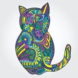 猫例证 免版税库存照片