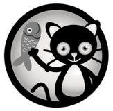 猫动画片例证 免版税图库摄影