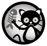猫动画片例证 库存图片