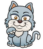 猫动画片 免版税库存照片
