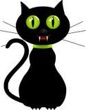 猫吸血鬼 库存例证