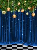 猫圣诞节梦想家基石休眠温暖的视窗 免版税库存图片