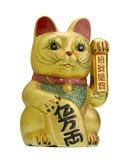 猫幸运的maneki neko 免版税库存照片