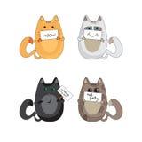 猫情感 免版税库存图片