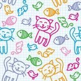 猫模式 图库摄影