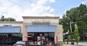 猫王咖啡馆咖啡和水烟筒议院,孟菲斯,TN 免版税库存图片