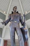 猫王大雕象在田纳西旅游业办公室 库存图片