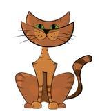 猫的例证 免版税库存照片