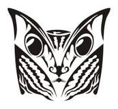 猫纹身花刺 免版税库存照片