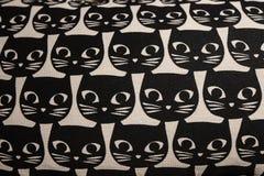 猫顶头动画片样式 免版税库存图片