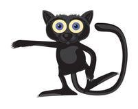 猫魔术街道 库存图片