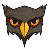 猫头鹰例证 库存图片