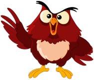 猫头鹰指向 免版税库存图片