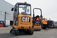 猫301 7D微型水力挖掘机 免版税图库摄影
