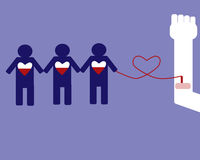 献血可能救人 图库摄影
