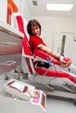 献血实验室 免版税库存照片
