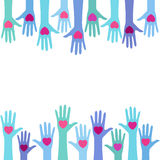 献血概念 免版税库存图片