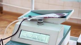 献血设备 影视素材