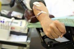 献血 库存照片