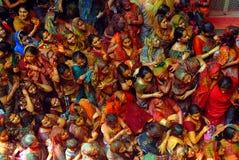 献身者印地安人妇女 免版税库存图片