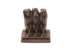 猴子三 免版税库存照片