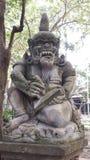 猴子森林ubud 库存照片