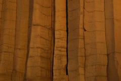 玄武岩墙壁 库存图片