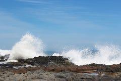 玄武岩岩石Bunbury澳大利亚西部 免版税库存照片