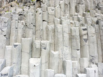 玄武岩形成冰岛岩石 免版税库存照片