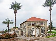 玄武岩犹太教堂在提比里亚 免版税库存图片