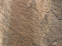 玄武岩破裂的表面 免版税图库摄影