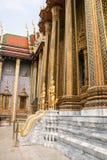 玉佛寺在曼谷,泰国 免版税库存照片
