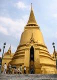 玉佛寺在曼谷,泰国 免版税库存图片