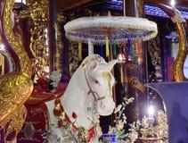 玉山寺庙在河内 图库摄影