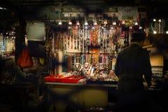玉市场在香港 图库摄影