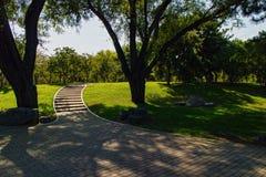 玉渊潭公园风景在北京 免版税库存图片