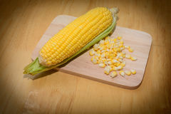 玉米可口烹调 图库摄影